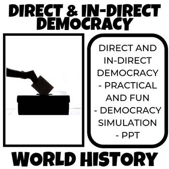 Direct In Direct Democracy