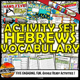 Ancient Hebrews Interactive Vocabulary Set Google Ready Di