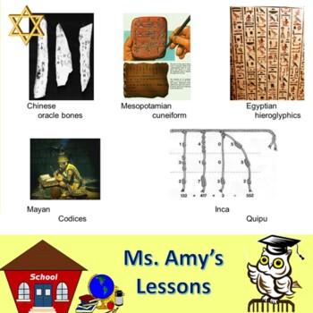 Ancient Hebrew Civilization: WRITING & LITERATURE PowerPoint Presentation