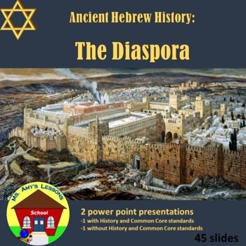 Ancient Hebrew Civilization: the DIASPORA PowerPoint Presentation