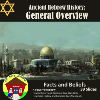 Ancient Hebrew Civilization: General Overview PowerPoint P