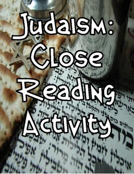 Ancient Hebrews: Judaism Close Reading