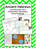 Ancient Hebrews: Learning Guide, Presentation, Google Draw