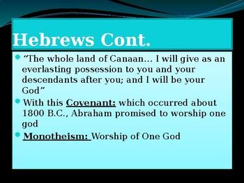 Ancient Hebrews, Phoenicians, Lydians