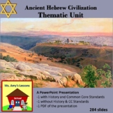 Ancient Hebrew PowerPoint Thematic Unit Bundle