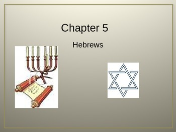 Ancient Hebrews Review Quiz Powerpoint