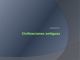 Ancient Hispanic Civilizations Trivia Competition PowerPoint in Spanish