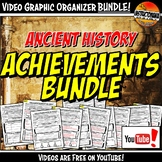 Ancient History Achievements YouTube Video Graphic Organiz