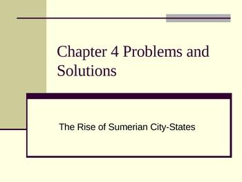 Ancient History Alive: Sumerian City-States & Sumerian Culture