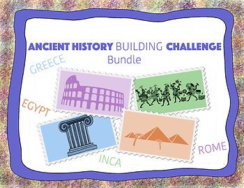 Ancient History Building Challenge Bundle