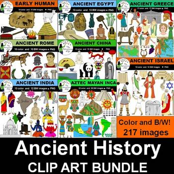 Ancient History Clip Art Bundle