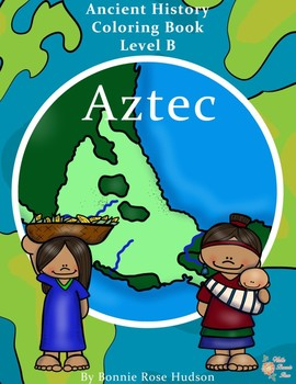 Ancient History Coloring Book: Aztec