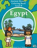 Ancient History Coloring Book: Egypt-Level B