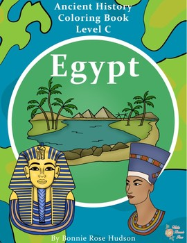 Ancient History Coloring Book: Egypt-Level C