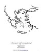 Ancient History Coloring Book: Greece-Level C