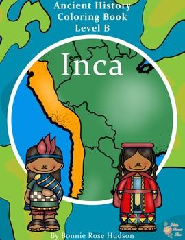 Ancient History Coloring Book: Inca