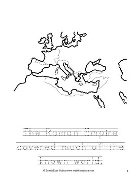 Ancient History Coloring Book: Rome