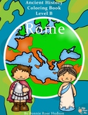Ancient History Coloring Book: Rome-Level B