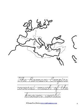 Ancient History Coloring Book: Rome-Level C