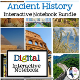 Ancient History Digital Interactive Notebook for Google Dr