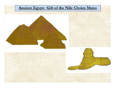 Ancient Egypt: Gift of the Nile Choice Menu