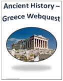 Ancient History - Greece Webquest for Google Apps - Internet Activity
