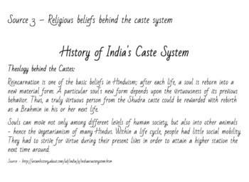 Ancient History Lab India SS.6.W.4.2