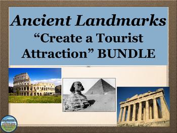 Ancient History Landmarks Project Bundle