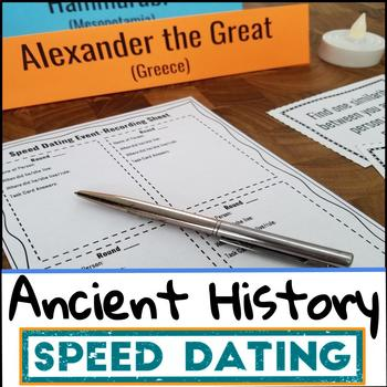 Ancient History Project - Speed Dating