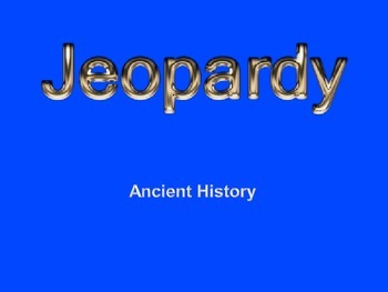 Ancient History Review