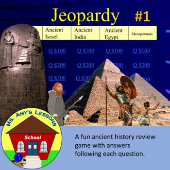 Ancient History Review Game #1
