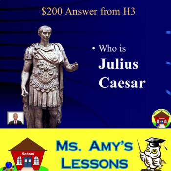 Ancient History Review Game #2