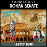 Ancient History: Roman Senate (No-Prep Lesson Plan)