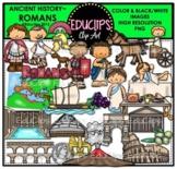 Ancient History - Romans Clip Art Bundle {Educlips Clipart}