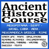 Ancient History GROWING BUNDLE