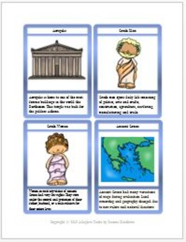 Ancient History Task Card Set