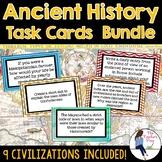 Ancient History Task Cards Mega Bundle {Growing Bundle}