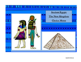Ancient Egypt: The New Kingdom Choice Menu