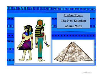 Ancient Egypt: The New Kingdom Choice Menu