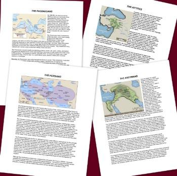 Ancient Hittites, Assyrians, Phoenicians, and Persians - Lesson Plan