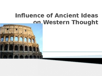 Ancient Ideas and Philosophies - Bread and Circuses