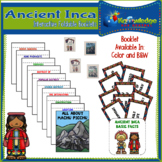Ancient Inca Interactive Foldable Booklets - EBOOK