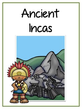 Ancient Incas Writing Word Thematic Folder - Picture Word Wall