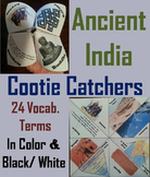 Ancient India Activity (Cootie Catcher Foldable Review Game)