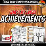 Ancient India Achievements YouTube Video Graphic Organizer