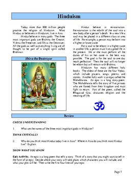 Ancient India, Activities and Worksheets