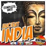 Ancient India Unit Plan Lesson & Activity Bundle History C