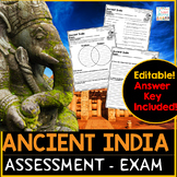 Ancient India Test Assessment Exam
