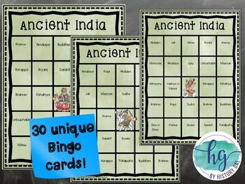 Ancient India Bingo