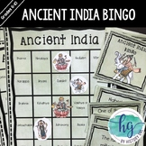 Ancient India Bingo (works with Distance Learning)